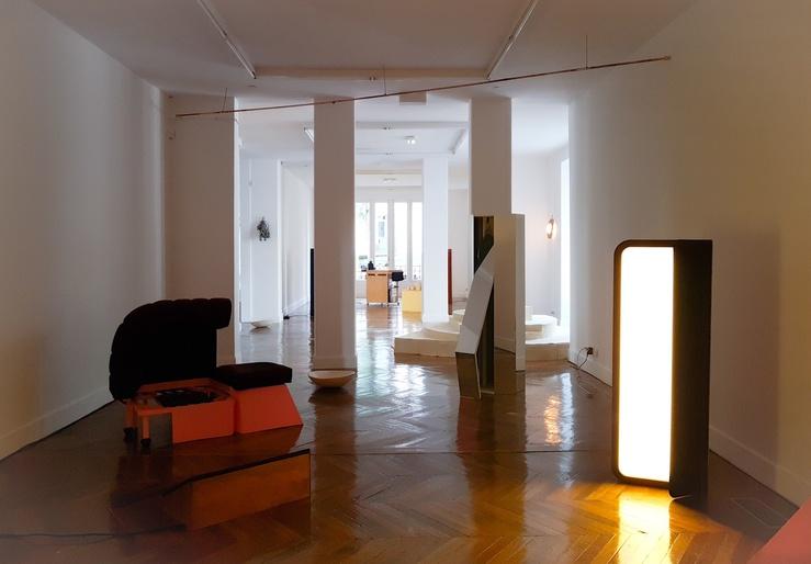 Vue de l'exposition Le Pouvoir du dedans à La Galerie, Noisy-le-Sec, 2018