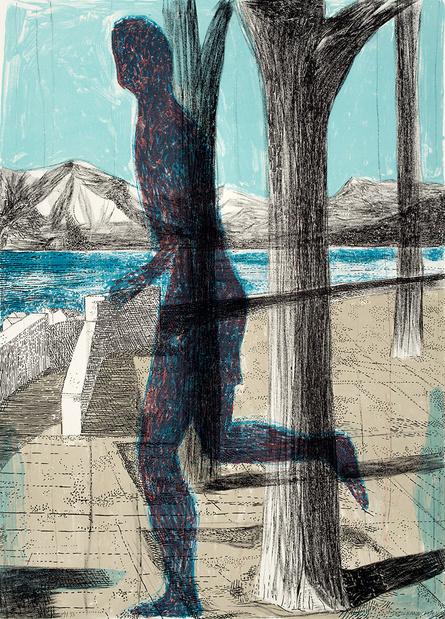 Marc desgrandchamps latona dessin personnage qui marche galerie lelong 1 medium