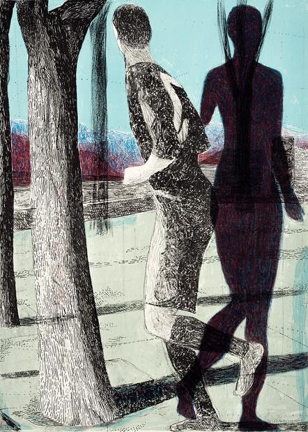 Marc desgrandchamps latona dessin personnage qui marche galerie lelong2 1 medium