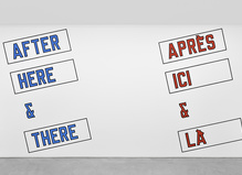 Lawrence Weiner — Galerie Marian Goodman