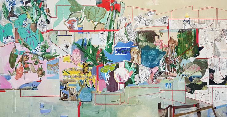 Lucia Laguna, Vue de l'exposition à la galerie Karsten Greve, Paris, 2018