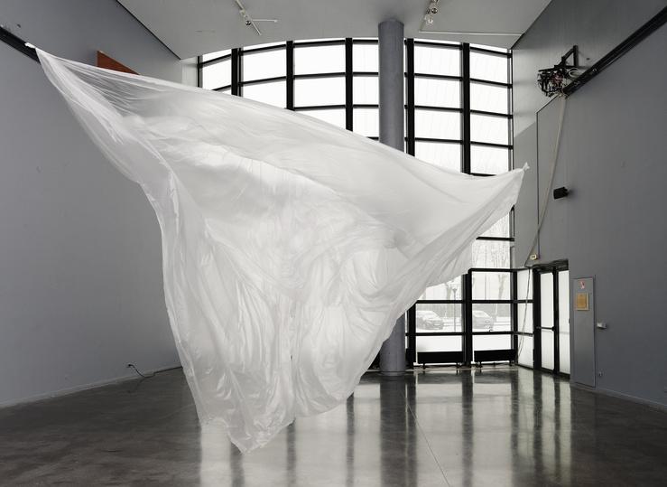 Vivien Roubaud, Vue de l'exposition Vide secondaire au centre d'art de l'Onde, Vélizy, 2019