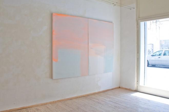 Vue de l'exposition «Le medesime cose» au Centro Michon, Livourne, 2013