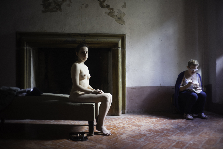 Jeffreysilverthorne model and her mother %231, monte castello 2016 original
