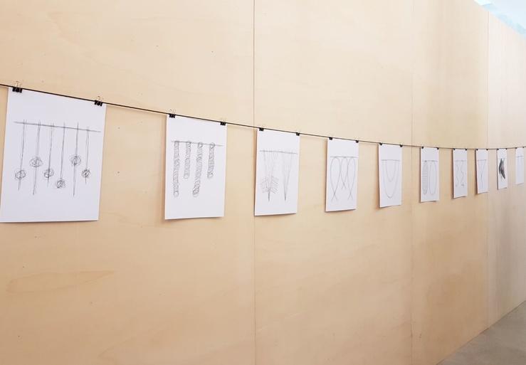 Claude Closky, Vue de l'exposition Direct Messages, galerie Salle Principale, Paris, 2019