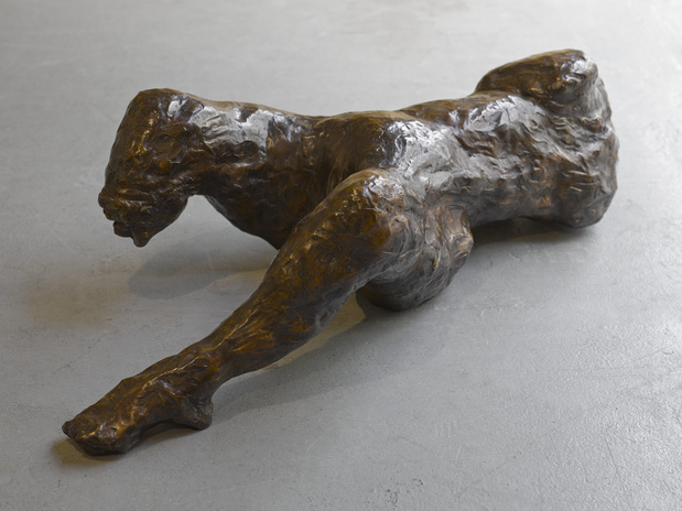 Tracey emin artiste biographie exposition every part of me feels you 2014 bronze 1 medium