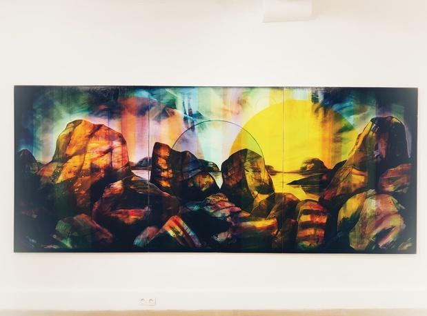 Edouard wolton exposition bullfrog paris peinture plus 1 medium