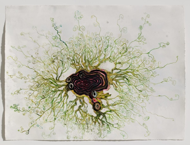 Ellen gallagher exposition artiste paris 15 1 medium