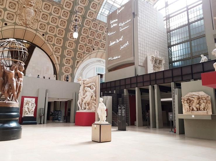 Vue du musée d'Orsay, Paris, 2019