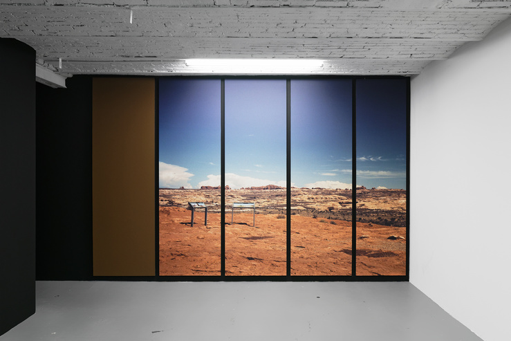 Constance Nouvel, vue de l'exposition Atlante, galerie In Situ—Fabienne Leclerc, Paris, 2019