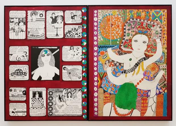 Dorothy iannone exposition artiste centre pompidou paris 1 1 medium