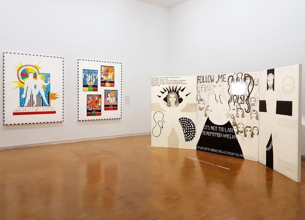 Dorothy iannone exposition artiste centre pompidou paris 14 1 medium