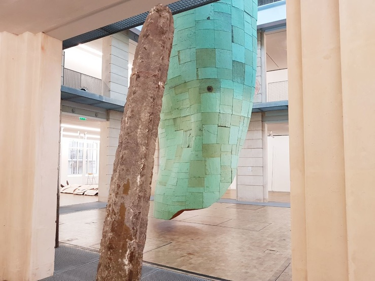 Katinka Bock, Vue de l'exposition Tumulte à Higienopolis, Lafayette Anticipations, Paris, 2019