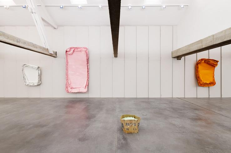 Éric Baudart, vue d'exposition aux Tanneries d'Amilly, 2019