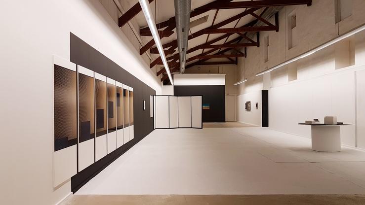 Constance Nouvel, vue de l'exposition Réversible au CPIF de Pontault-Combault, 2020