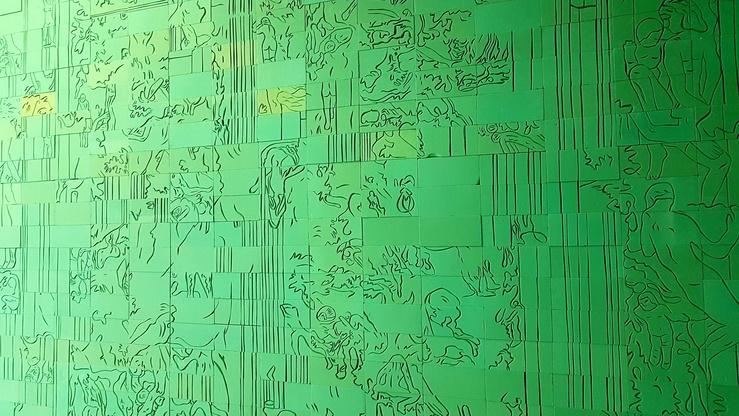 Victoire Barbot, vue de Jeune Création, 69e édition, Romainville