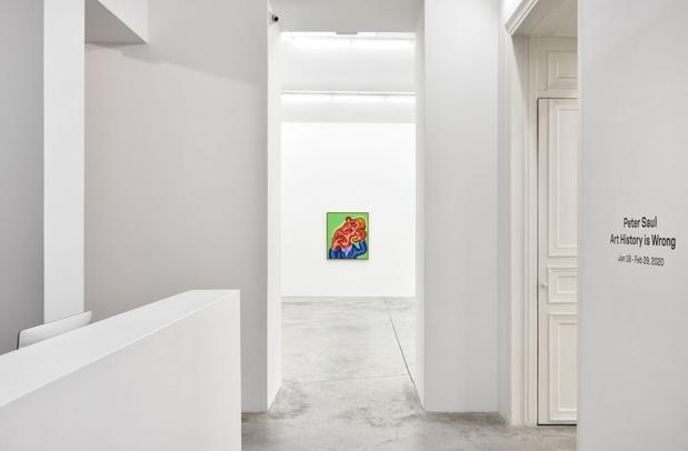 Peter saul almine rech galerie paris exposition 13 1 medium