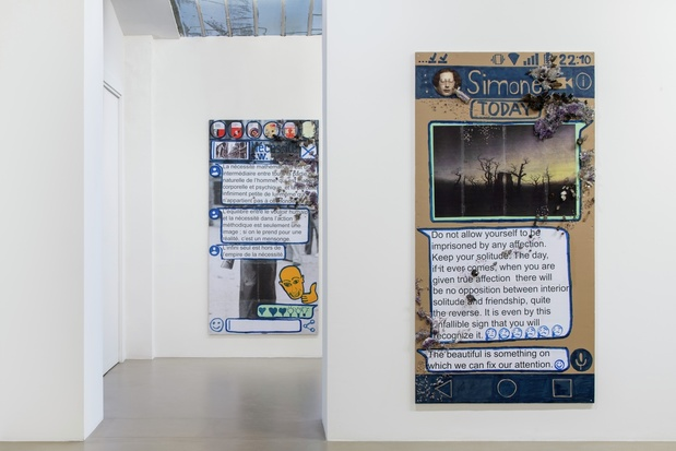 Thomas hirschhorn galerie chantal crousel exposition paris 16 1 medium