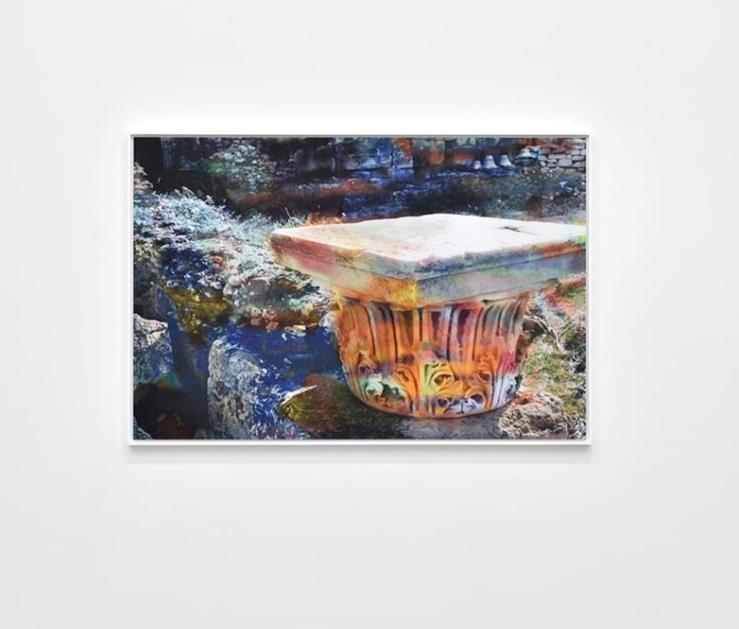 James Welling, Roman Agora. Corinthian Capital, 2019