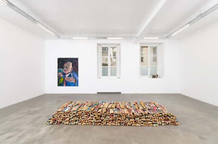 Hassan Sharif, Vue de l'exposition, Hassan Sharif, From Daily Experiences to Collective Stories, 2020