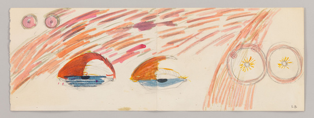 Louise bourgeois dessins drawings hauser wirth exposition exhibition 8 1 medium