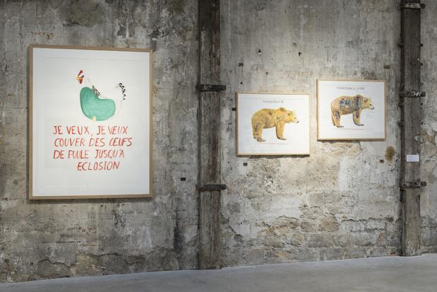 Topographie de l art exposition 1abraham poincheval galerie semiose museegassendi 1 medium