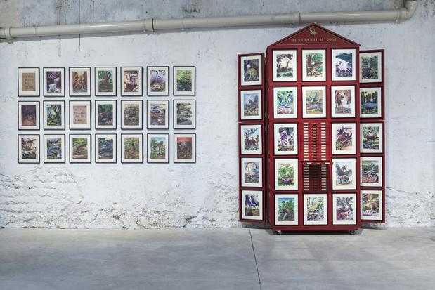Topographie de l art exposition 4horst haack bestiaire%20deux%20mille1 courtesy%20de%20lartiste 1 medium