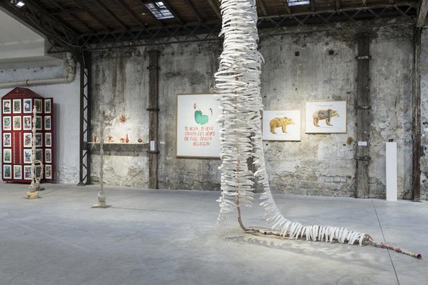 Topographie de l art exposition 8humanimalismes vue ensemble topographie de lart7 1 medium