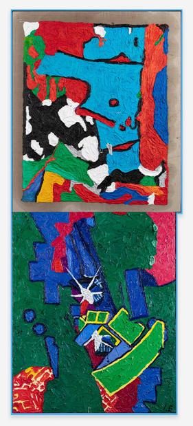 Ida ekblad galerie max hetzler paris article art contemporain 1%2021761 ida%20ekblad,%20invasion%20of%20her%20mind%20by%20something%20else,%202020 photo%20uli%20holz 1 medium