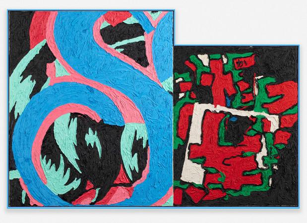 Ida ekblad galerie max hetzler paris article art contemporain 12%2021762 ida%20ekblad,%20psycotronic%20microwave,%202020 photo%20uli%20holz 1 medium