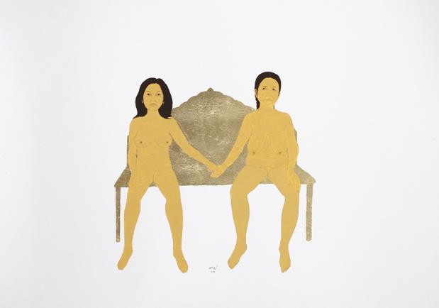Kubra khademi exposition dessin paris galerie eric mouchet 6 1 medium