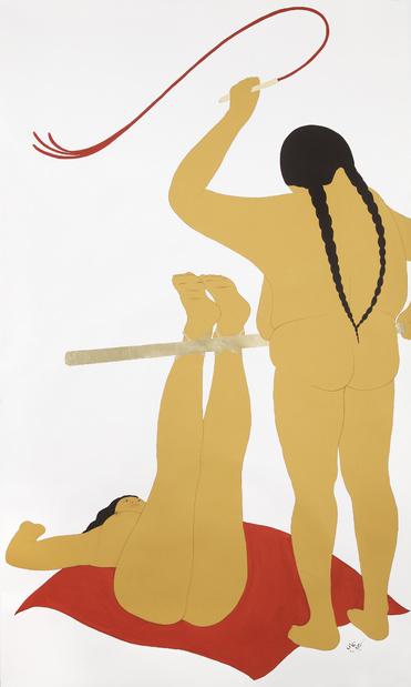 Kubra khademi exposition dessin paris galerie eric mouchet 7 1 medium