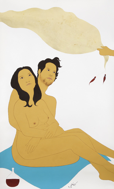 Kubra khademi exposition dessin paris galerie eric mouchet 9 1 medium