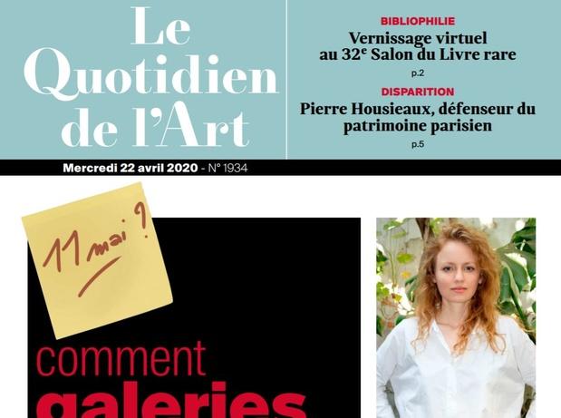 Quotidien de l art beaux arts magazine 1 medium