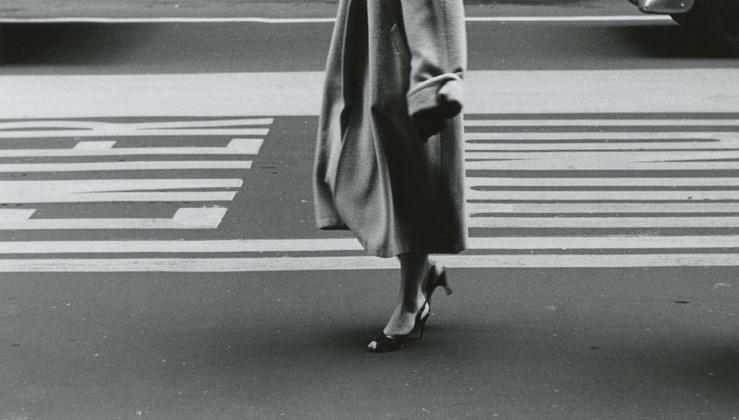 Ray K. Metzker, Chicago, 1957—Tirage gélatino-argentique d'époque, réalisé par l'artiste—Image : 21,7 x 12,9 cm—Tirage : 25,3 x 20,4 cm
