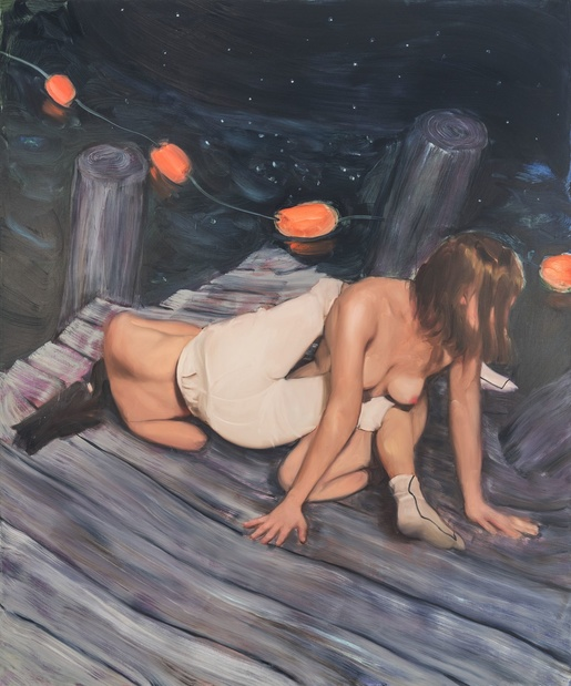 Jenna gribbon peinture artiste 1 1 medium