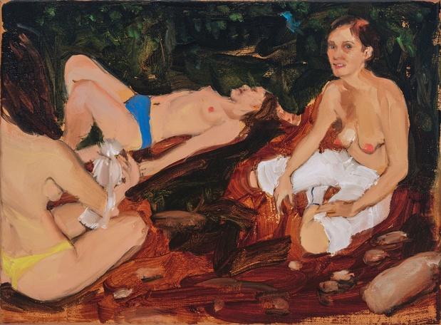 Jenna gribbon peinture artiste 2 1 medium