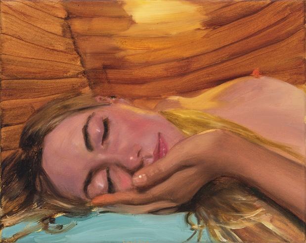 Jenna gribbon peinture artiste 5 1 medium