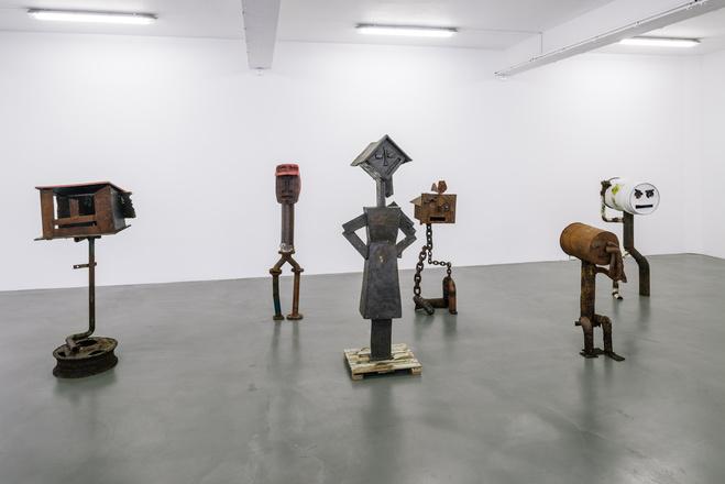 Vue de l'exposition  Sven 't Jolle : A Touch of Class, Antagonism