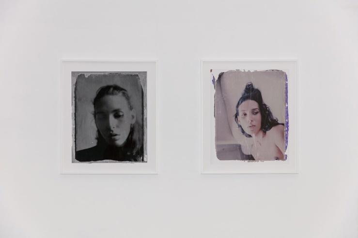 Léonard Bourgois Beaulieu, vue de l'exposition Se nommer soi-même à la galerie Laure Roynette, Paris, 2020