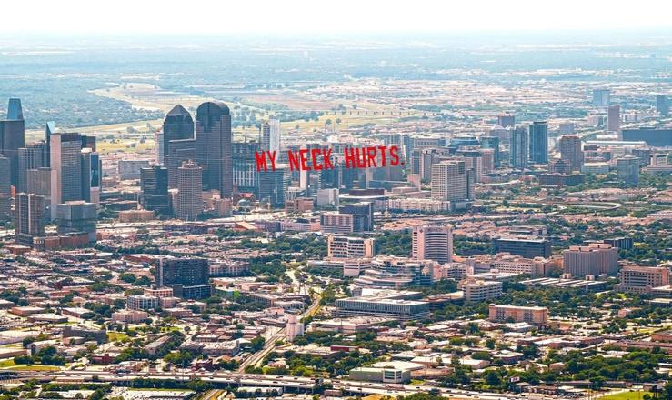 Jammie Holmes, My Neck Hurts (Dallas), 2020