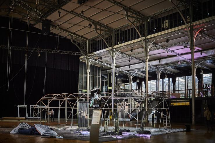 Gaëlle Choisne, Les Moyens du bord, La Villette en collaboration avec le Centre Pompidou
