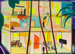 Jules de balincourt peinture exposition paris thaddaeus ropac paris 15 1 grid