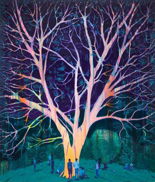 Jules de balincourt peinture exposition paris thaddaeus ropac paris 12 1 medium