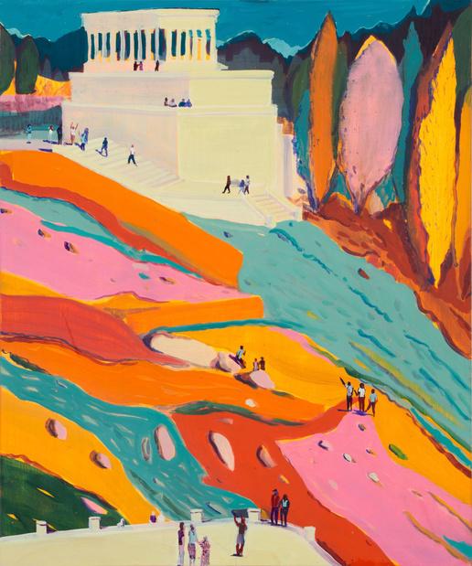 Jules de balincourt peinture exposition paris thaddaeus ropac paris 13 1 medium
