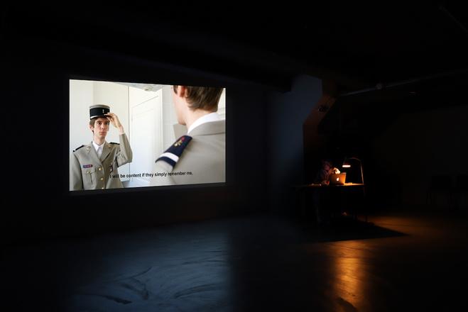 Projection au Special event WABF, WIELS Centre d'Art Contemporain, Bruxelles
