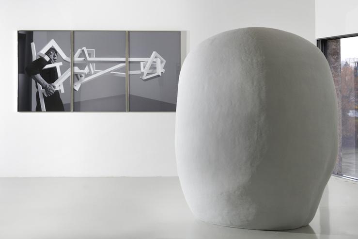 Vue de l'exposition Dancing Machines, Frac Franche-Comté, 2020, commissariat Florent Maubert & Sylvie Zavatta