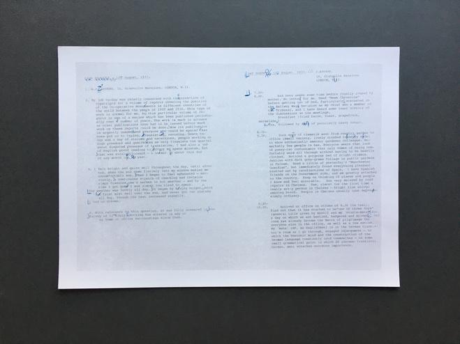 Installation vidéo et impression sur papier