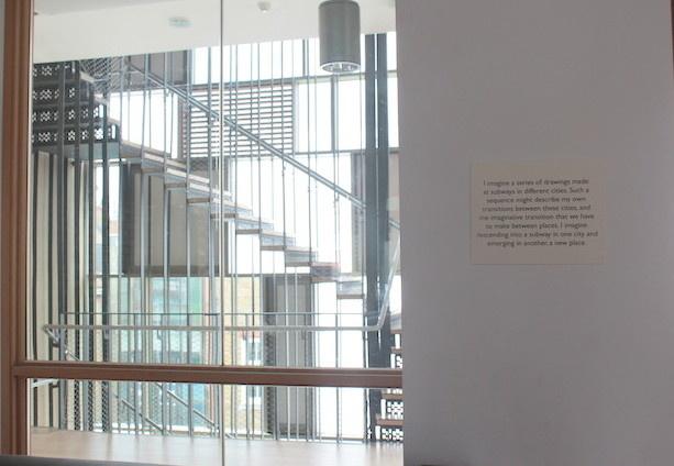 Vue de l'exposition au Centre Siobhan Davies, Londres, 2013