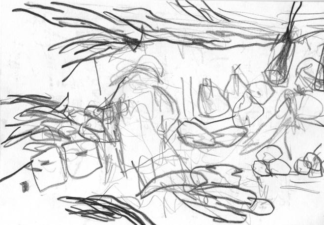 De la série dessins: Whitechapel, 2006